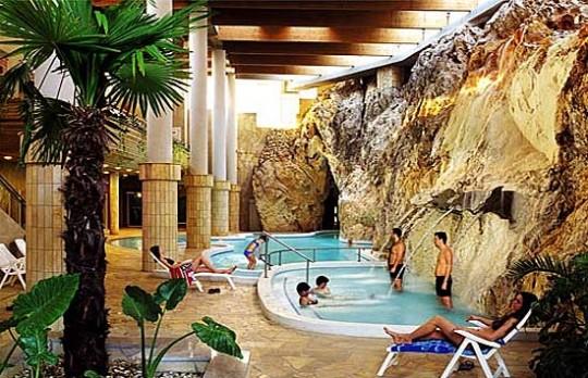 Höhlenbad von Miskolc Tapolca Ungarn