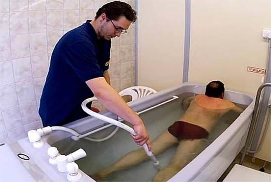 Heilbad Debrecen medizinisches Bad im Rahmen der Kur