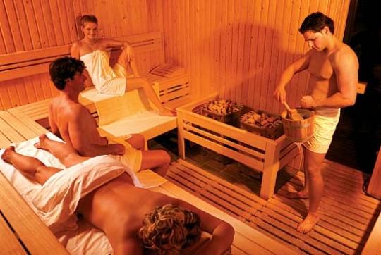 Finnische Sauna bad Zalakaros Hotel Karos Spa
