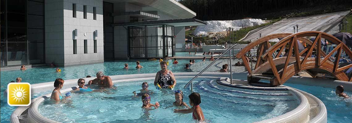 Badefreuden für die ganze Familie in Ungarn